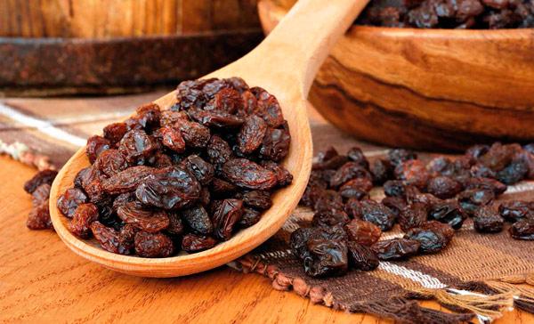 las uvas pasas y la diabetes