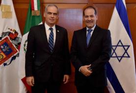 Embajador de Israel en México reconoce seguridad y crecimiento económico de Aguascalientes