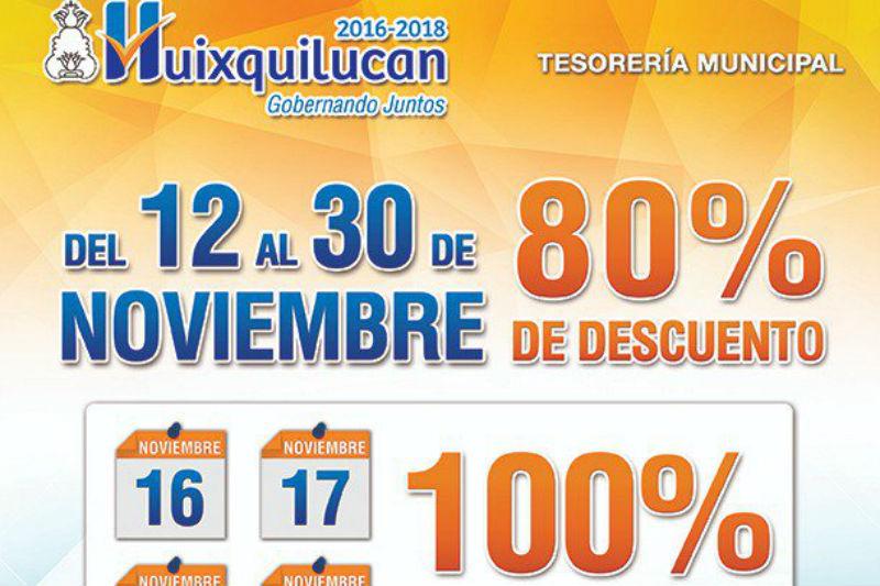 Entra El Predial Al Buen Fin En Huixquilucan 24 Horas