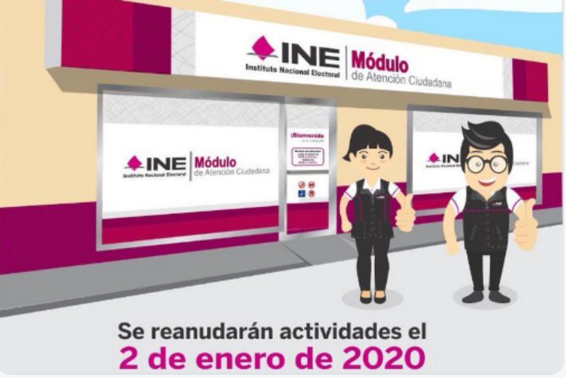 Módulos Del Ine En El País Reanudan Labores Este Jueves 24
