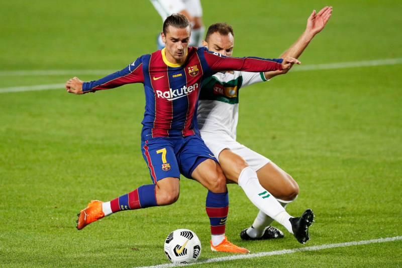 Gol de Griezmann le da la tercer victoria seguida en amistosos al Barcelona. Noticias en tiempo real