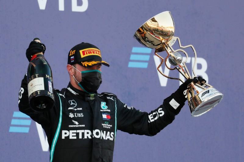 Bottas gana GP de Rusia tras penalización a Hamilton (+foto). Noticias en tiempo real