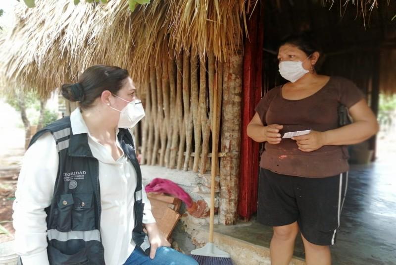 Titular de Protección Civil realiza jornada de trabajo en Yucatán tras el paso de tormentas. Noticias en tiempo real
