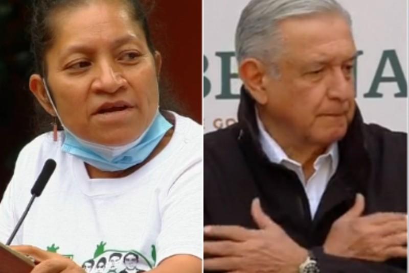 """""""No nos defraude"""": Madre de uno de los 43 reprocha a AMLO a seis años de caso Ayotzinapa. Noticias en tiempo real"""