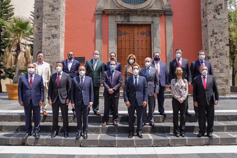 Gobernador de SLPparticipa en reunión con Arturo Herrera. Noticias en tiempo real