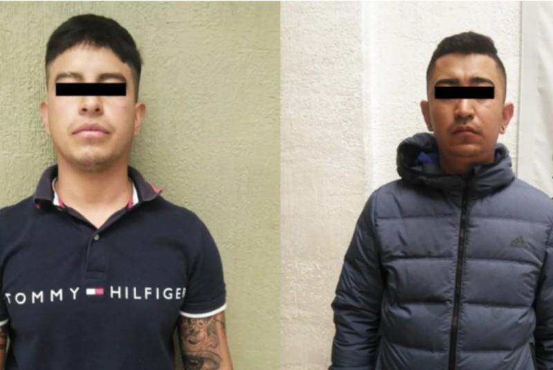 Detienen a dos sujetos acusados de extorsionar a choferes de transporte. Noticias en tiempo real