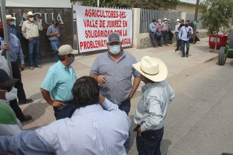 PAN pide a Gobierno federal abrir diálogo para resolver conflicto de agua en Chihuahua. Noticias en tiempo real