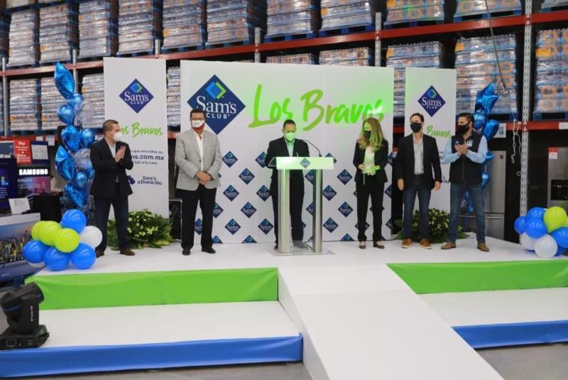 Apertura de Sam's Club Los Bravos refrenda confianza en Juárez: Alcalde. Noticias en tiempo real