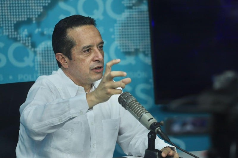 Carlos Joaquín da seguimiento a trayectoria y evolución de la depresión tropical 28. Noticias en tiempo real