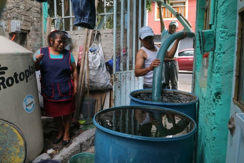 El agua en Iztapalapa será regular hasta el domingo. Noticias en tiempo real