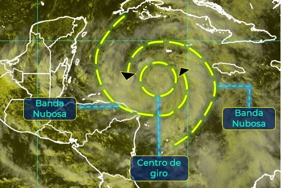 Depresión tropical 28 provocará lluvias fuertes en Yucatán, Campeche y Quintana Roo. Noticias en tiempo real
