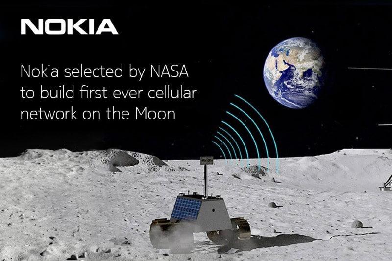 NASA elige a Nokia para desarrollar red móvil en la Luna. Noticias en tiempo real