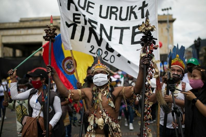 En Colombia, inconformes retan a la pandemia. Noticias en tiempo real