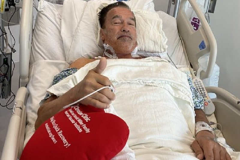 """""""Me siento fantástico"""", afirma Arnold Schwarzenegger tras cirugía de corazón. Noticias en tiempo real"""