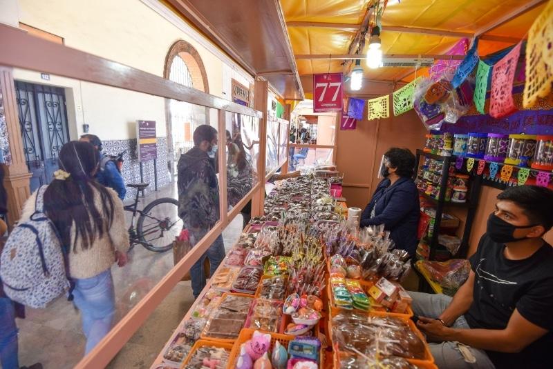Arranca Feria del Alfeñique en el Edomex. Noticias en tiempo real