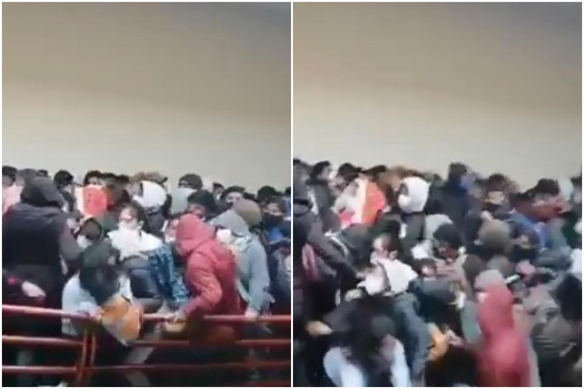 Al menos 7 estudiantes mueren al caer del cuarto piso en universidad de Bolivia (+video)