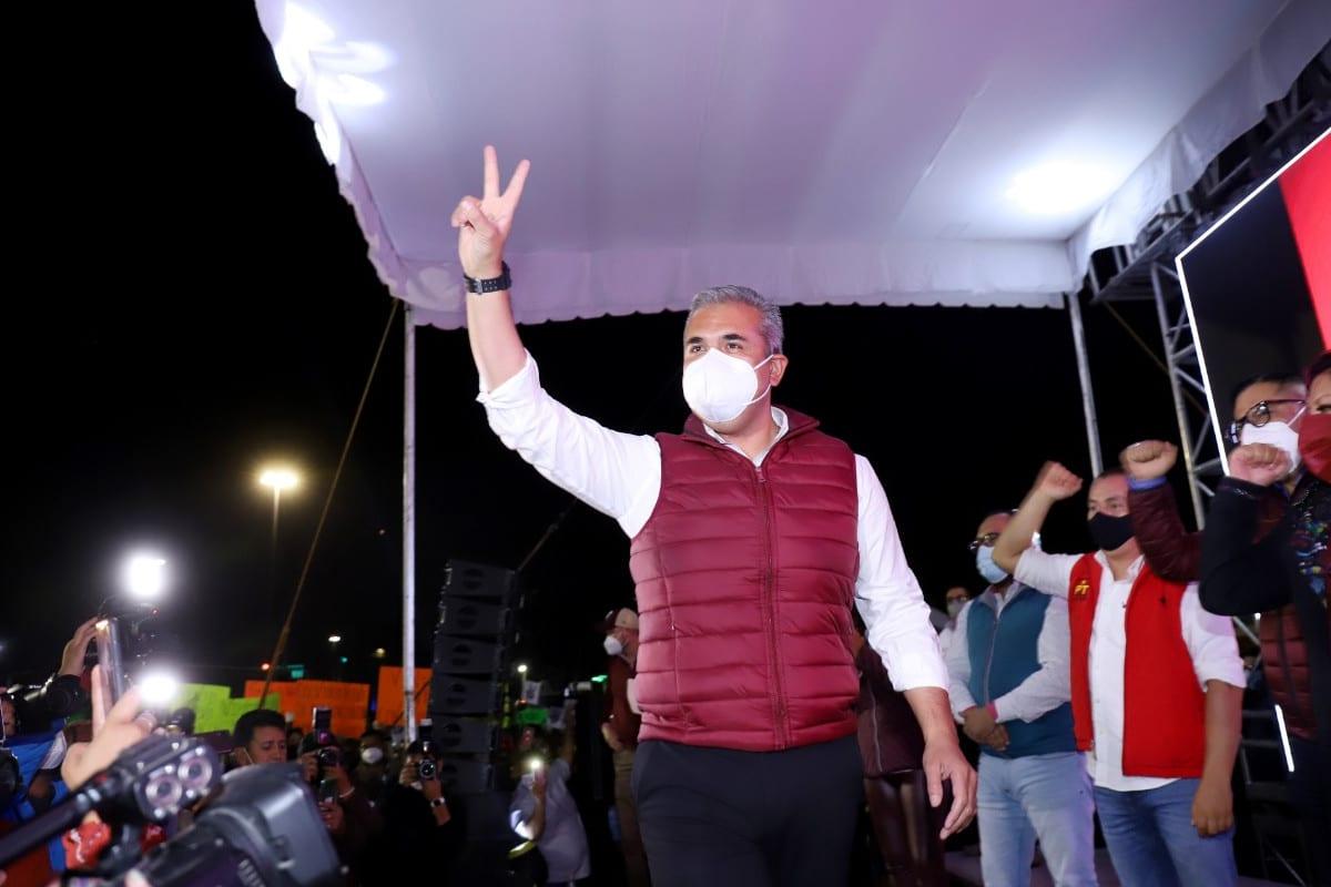 Fernando Vilchis inicia campaña por alcaldía de Ecatepec ante más de 20 mil personas conectadas de manera virtual