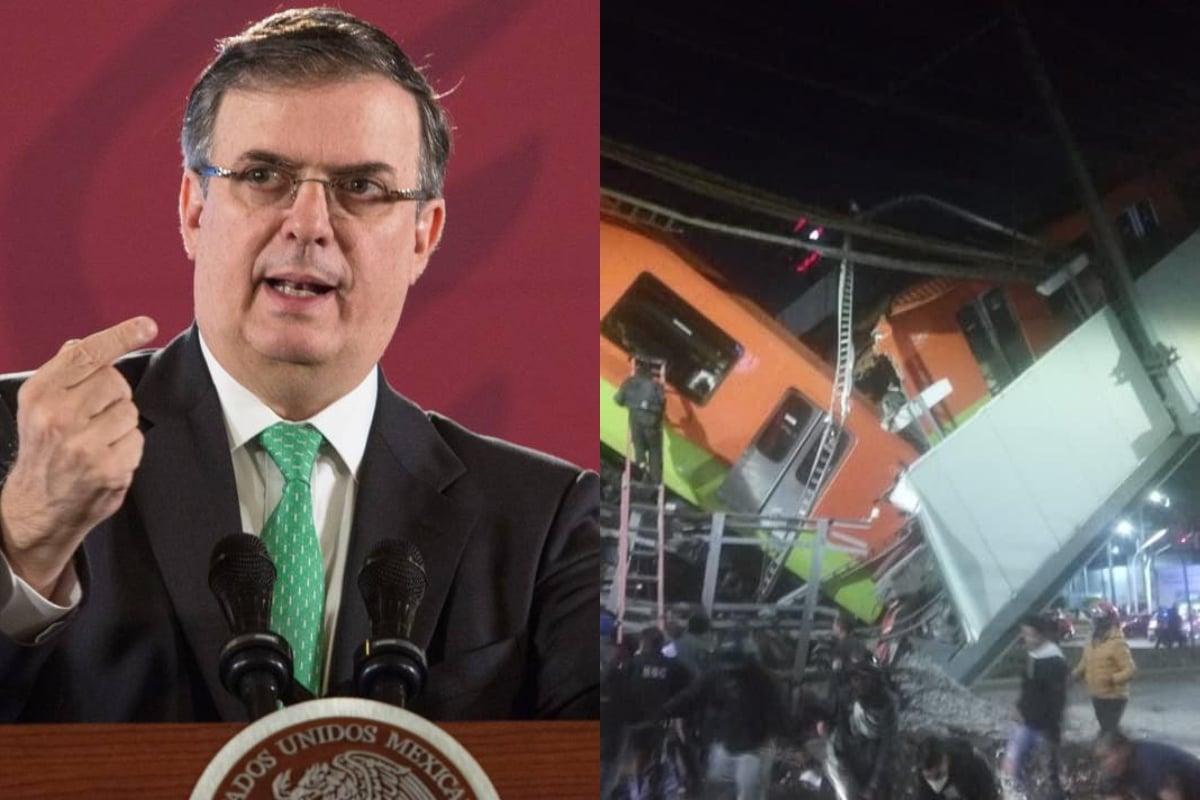 Marcelo Ebrard se pronuncia luego de la tragedia de la línea 12 del Metro de la Ciudad de México