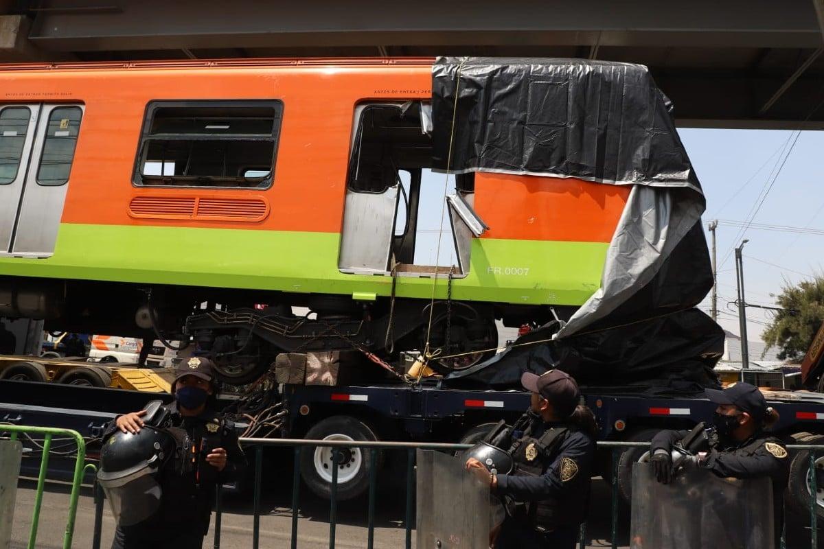 """""""Homicidio y daño a la propiedad"""": FGJ investiga accidente en Línea 12"""