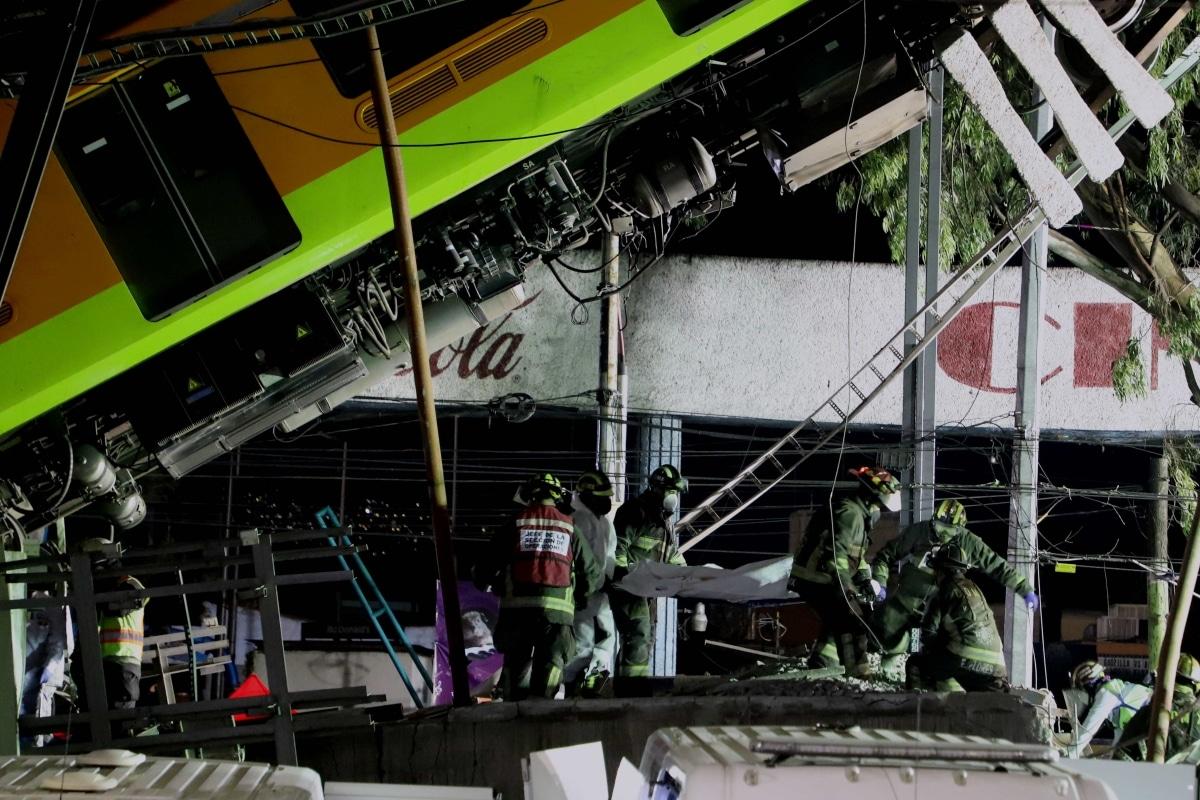 L-12 no podría abrir hasta reparar tramo del desplome