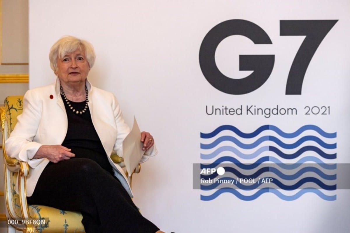 """Acuerdo """"histórico"""" en el G7 sobre un impuesto mínimo a las grandes empresas"""