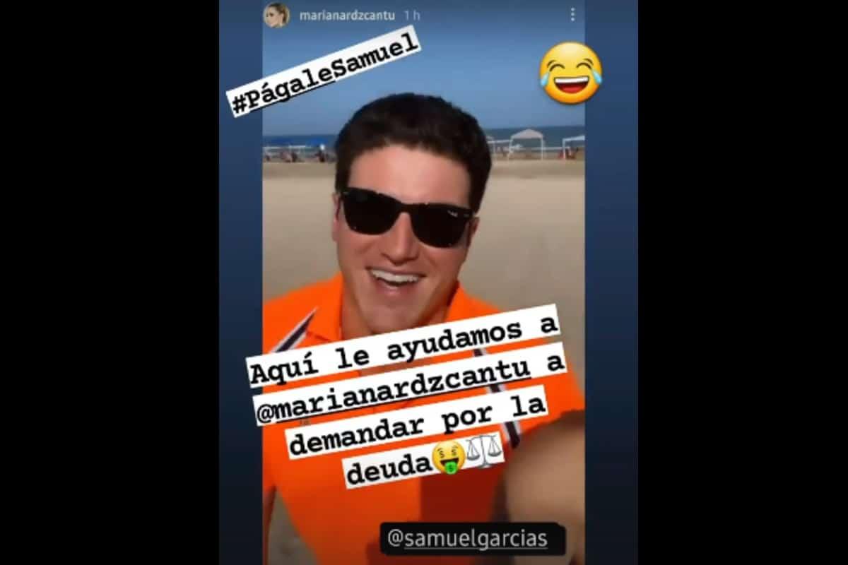 En la playa Samuel y Mariana bromean por la multa del INE