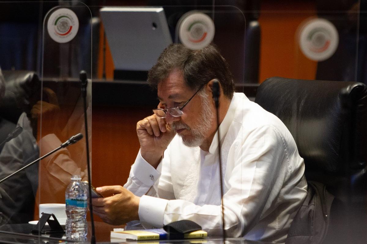 """""""Es una chinguita el bicho"""": Noroña presenta complicaciones por Covid-19"""