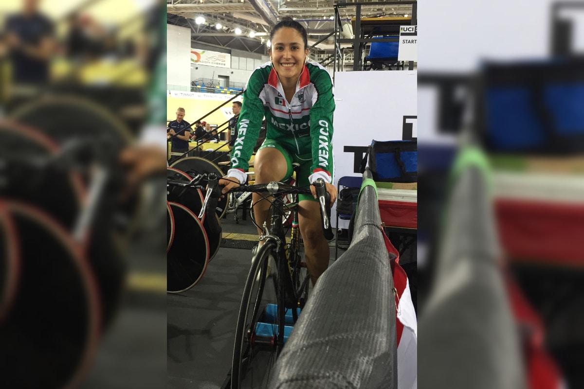 Jessica Salazar, ciclista mexicana, renuncia a participar en Juegos Olímpicos