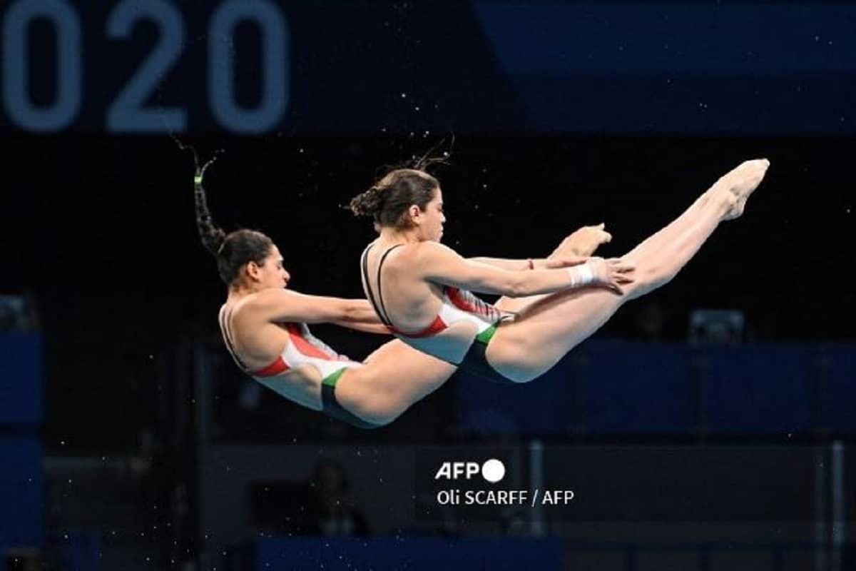 Ale Orozco y Gaby Agúndez avanzan a semifinales de plataforma de 10 metros en Tokio 2020