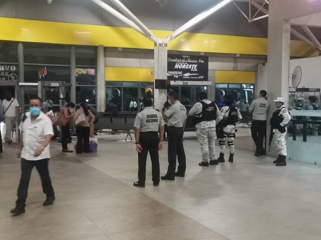 Migrantes haitianos en operativo