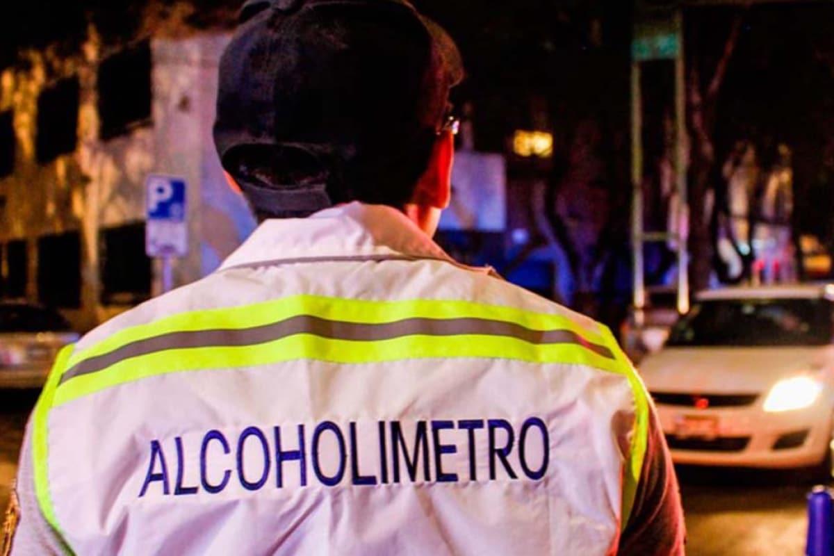 En 18 años de alcoholímetro en CDMX, 228 mil personas no han pasado la prueba