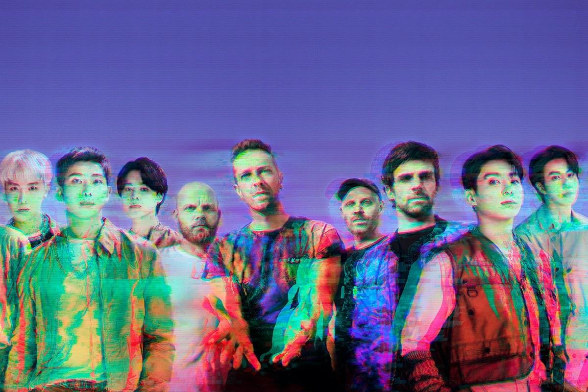 Coldplay confirmó el lanzamiento de su nuevo sencillo con la banda k-pop BTS
