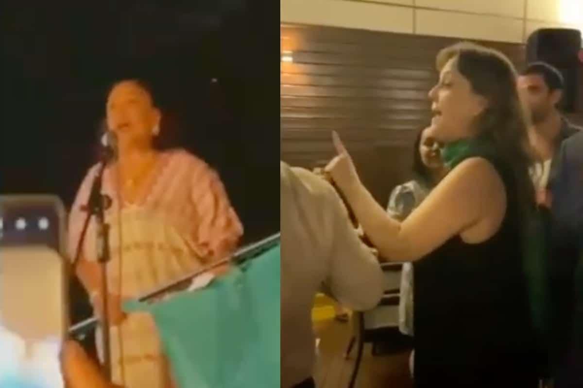 """VIDEO: Así gritó la Cónsul Isabel Arvide: """"¡Viva Miguel Hidalgo…Viva la Justicia…Viva López Obrador!"""". Noticias en tiempo real"""