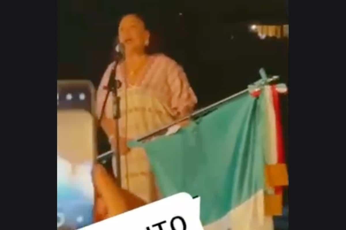 """VIDEO: Así gritó la Cónsul Isabel Arvide: """"¡Viva Miguel Hidalgo…Viva la Justicia…Viva López Obrador!"""".. Noticias en tiempo real"""