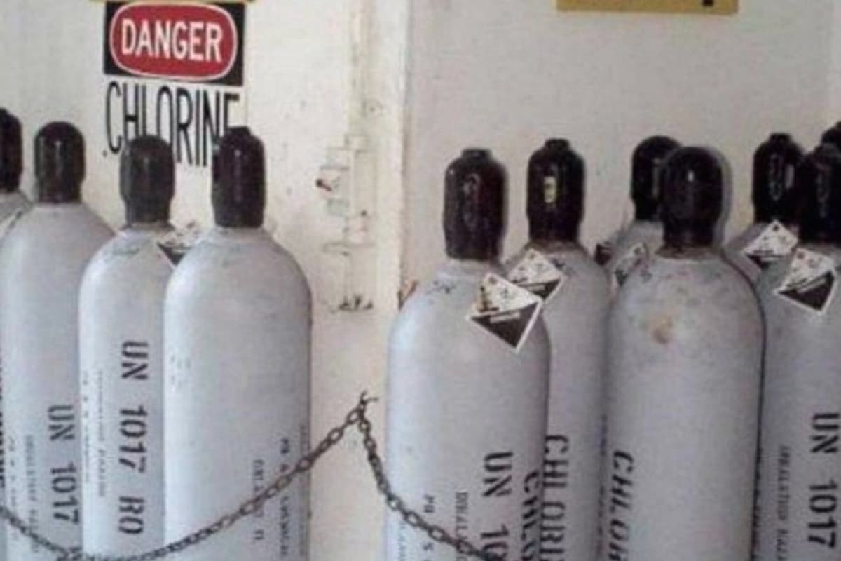 Protección Civil solicitó no manipular los cilindros en caso de su hallazgo, debido a su contenido tóxico