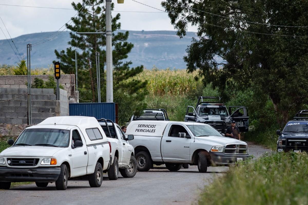 El hallazgo de los cuerpos en Zacatecas se dio tras una denuncia anónima.