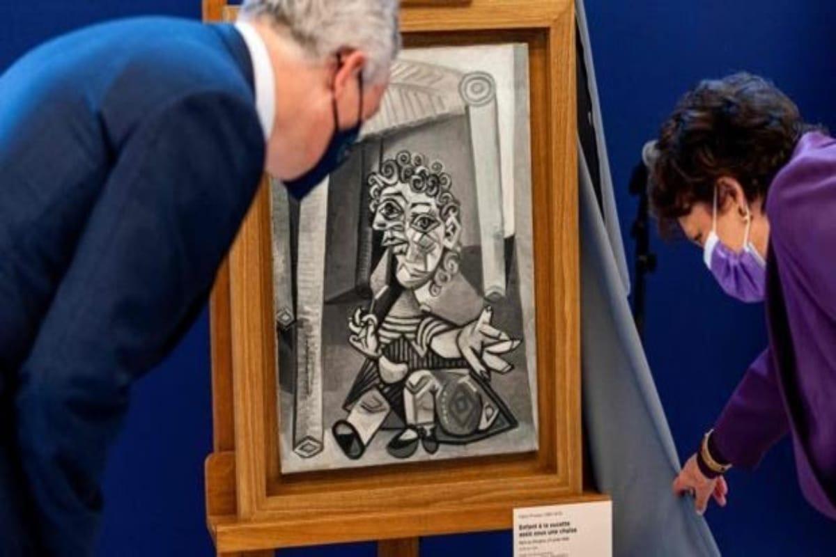 Dona obras de Picasso a Francia. Noticias en tiempo real