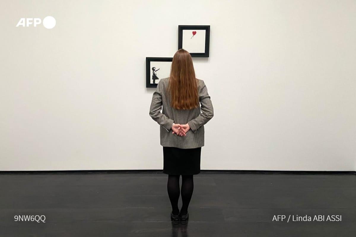 El cuadro «Niña con globo» de Banksy es vendido en 25,4 mdd. Noticias en tiempo real